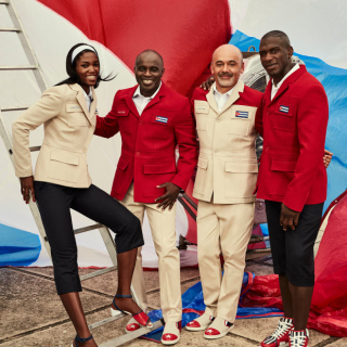 Christian Louboutin's uniforms for the Cuban Olympic Team